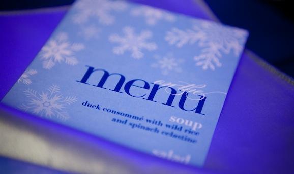 Зимнее меню в ресторане