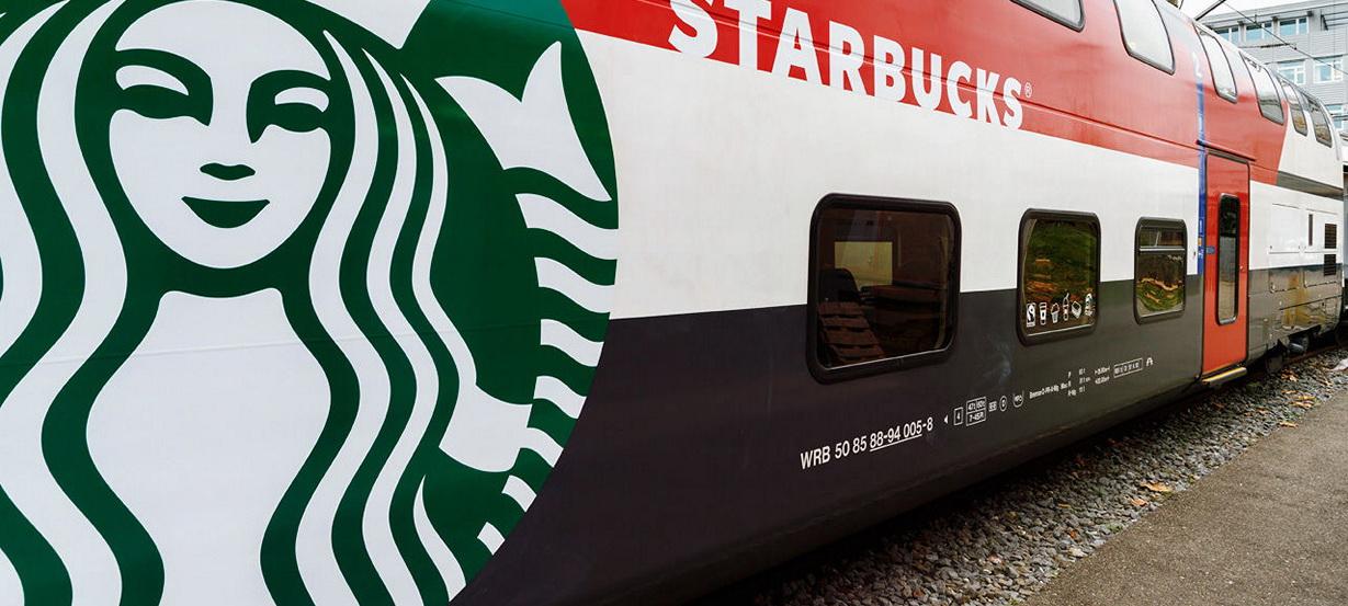 Starbucks завоёвывает железные дороги