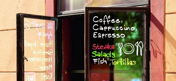 Маркеры Edding, изобретенные для Ваших кафе и ресторанов